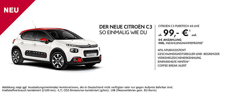 Citroen C3 Slide Angebot